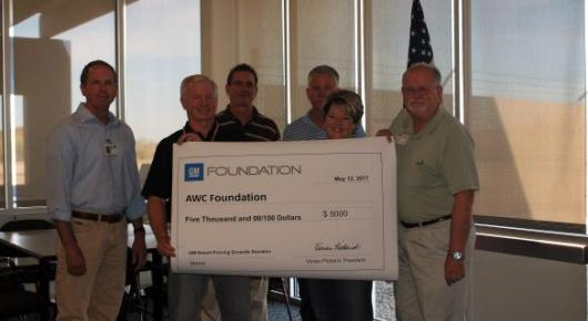 GM Foundation Donates $5000 to...
